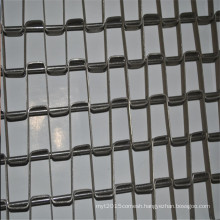 Stainless steel wire mesh sheet conveyor belt