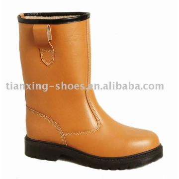 bottes de sécurité d'hiver
