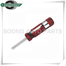 Tire Valve Core Tool with clip, Valve core key, Valve Core Extracting Tool