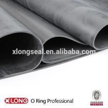 China fabricación de rollos de hoja de goma negro