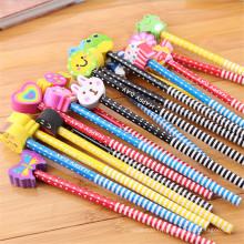crayon de fantaisie pour enfants avec gomme