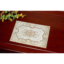 PVC Gold/Silver Lace Tablemat (CD-015)