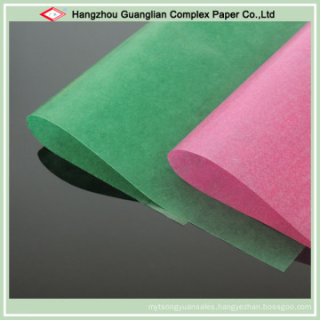 Color Glassine Paper for Food Wrapping Use