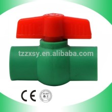 Water Blow Off PP-R Plastic Ball Valve DN20