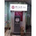 Banco ATM levou luz caixa ATM cabine Canopy quiosque