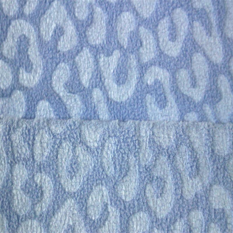 Embossed Jacquard Brushed Textiles Fashion Fabrics