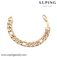 70929-Xuping loja online china pulseira de moda jóias de ouro para a mulher