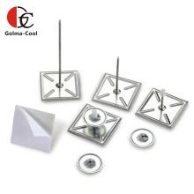 Arandelas autobloqueantes de aleación de aluminio Pasadores autoadhesivos