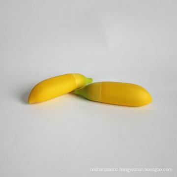 Custom Design Banana Shape Cosmetic 30ml Plastic Jar