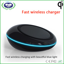 UFO Qi Charger Fast Wireless Charger for Univeral Smart Phone Wireless Charger with Receiver