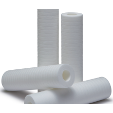 PP Thermal Bonded Groove Filter Cartridges