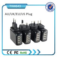 Carregador de Parede Portátil USB Plug Au