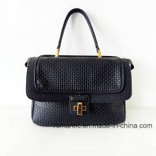 Las mujeres de la manera del surtidor de Guangzhou PU grabaron bolsos (NMDK-052501)