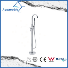 Brass Chromed Freestanding Bathtub Faucet with Hand Shower (AF6009-2H)