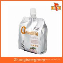 Resealable Food Grade Steh auf Honig Verpackung Tülle Tasche