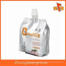 Resellable grado alimenticio de pie miel bolsa de plástico