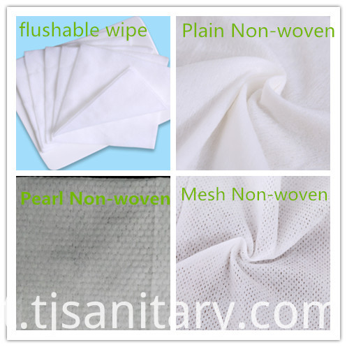non woven wet wipes