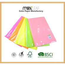 5 Colors Mixed Fluorescent Color Copy Paper Offset Photo Printing Paper