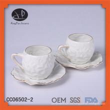 Nuevos productos 2015 producto innovador tazas de té y platillos desechables taza de Starbucks