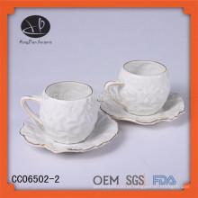 Novos produtos 2015 produto inovador descartáveis chá copos e pires starbucks xícara