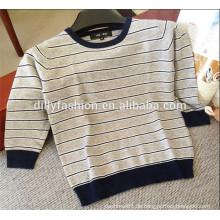 plain gestrickte gestreiften Jungen Design Pullover Kinder Pullover