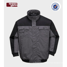 waterproof & breathable pilot jacket mens winter bomber jacket safety workwear jacket