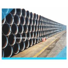 Tubos de sierra de acero al carbono, aleación / LSAW / Dsaw Tubos