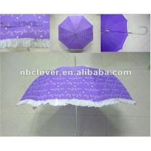 Drei Falten Umbrella (Werbe-Umbrella)