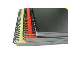Double Spiral Hard Cover Notebook Stationery for Schools and Office Promotional PP Cover Note Pad