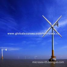 Wind Turbine with Typhoon Resistance, Anti-corrosion, Anti-thunder & Lightning, Anti-strike
