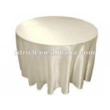 linge de table, couverture de table, linge de table de banquet 2012 satin