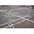 1100 mm height temporary safety crowd control barricade