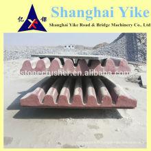 Plaque de mâchoire à haute performance fabriquée en Chine