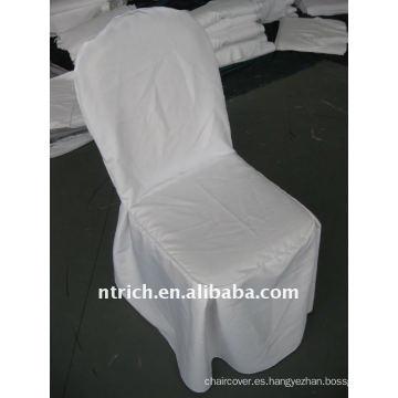 Cubierta para silla, 100% poliéster, funda para silla de hotel