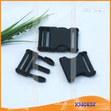 Hebillas de liberación central de plástico KI4065