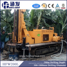 200m Water Bore Well Drilling Rig, Soil Boring Machine for Sale