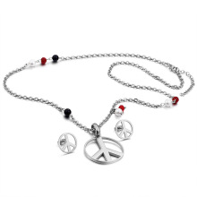 Halskette Ohrringe Frauen Engagement Schmuck Set