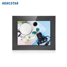 PC tactile industriel en acier inoxydable à montage sur panneau de 15''