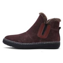 Men Boots Outdoor Sneakers with zip side design