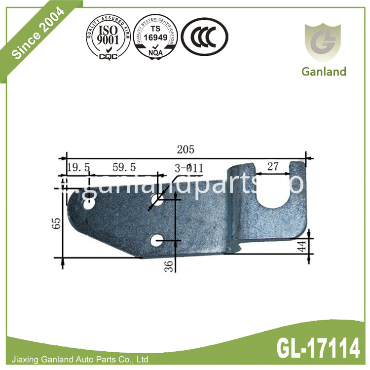 wing body truck hook GL-17114