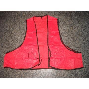 Disposable Adult Orange Safety Vest