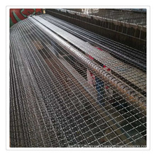 Stainless steel crimped wire mesh usd in the Aquaculture