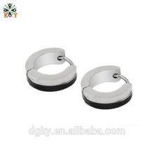 Neue heiße silberne Ohrringe Körper piercing Reifen Ohrringe
