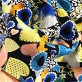 Tela lisa multicolorida personalizada de rayon da chegada nova