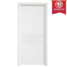 Portes simples en bois et stratifiées, Portes blanches à l'intérieur pour l'hôtel / Écoles / Accueil / Bâtiment de bureaux