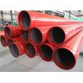 Tubo de acero para combatir incendios