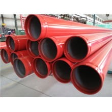 UL FM A53 Sch10 Bevel End Fire Fighting Pipe en acier