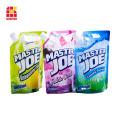 Custom Printed Liquid Soap Bag Standing Doypack For Detergent