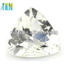 Atacado moda triângulo de cristal de pedra solta para decoração