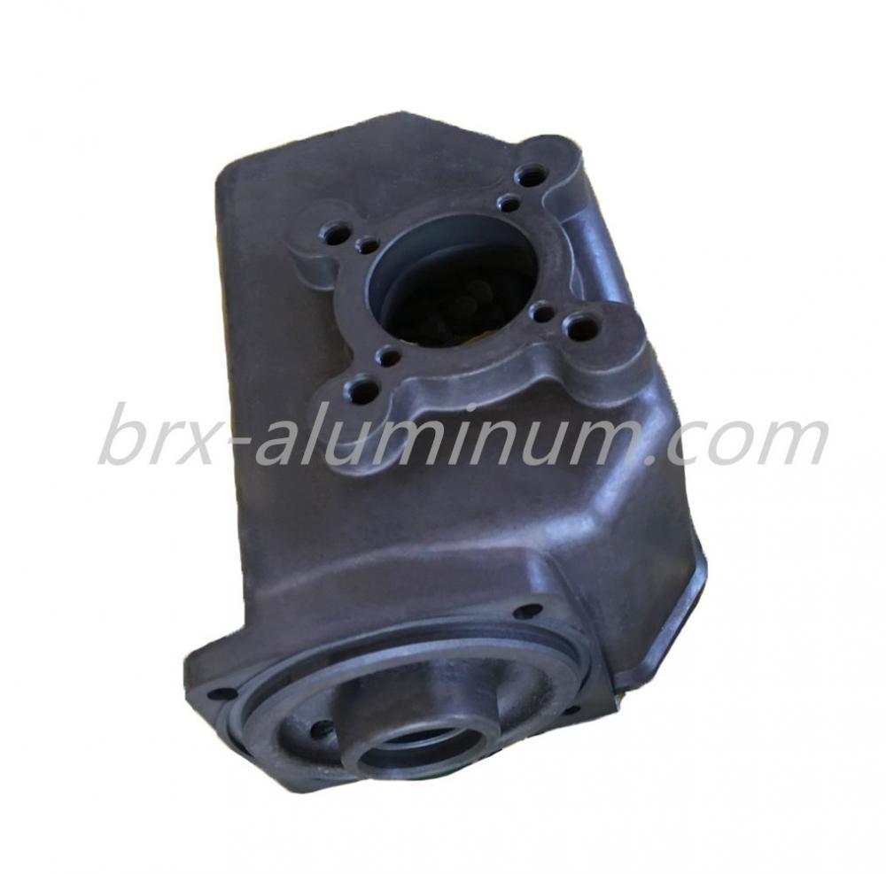 Aluminum die casting part with anodizing